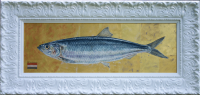 Herring, painting for The Herring Gallery. 